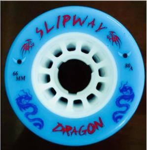 Slipway Dragon Blue Wheels